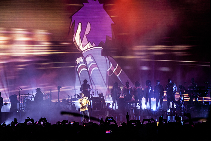 Gorillaz at Sonar 2018 This year I was on assignment for Cyclic deFrost Magazine