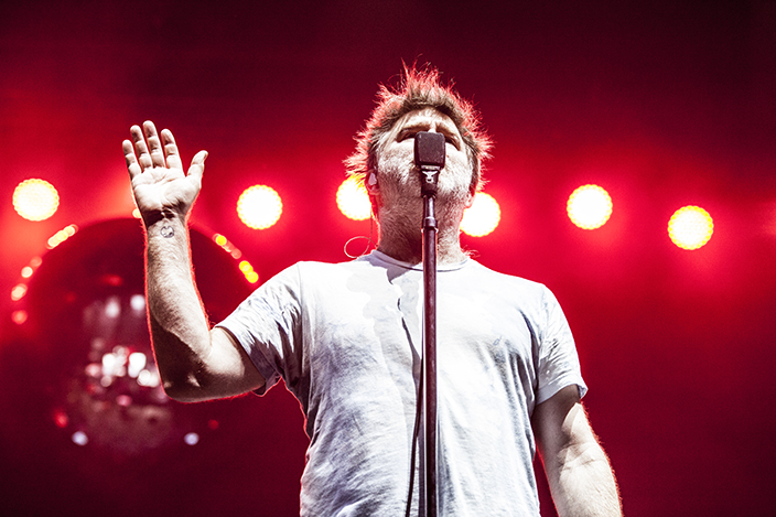 LCD Soundsystem at Sonar 2018 This year I was on assignment for Cyclic deFrost Magazine