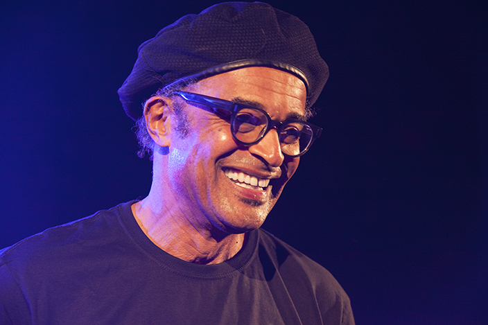 Yannick Noah Performs On Clausure Concert Of Senior Masters Cup for Getty Images 2018