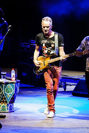 Sting performing  at Starlite Festival for Getty Images