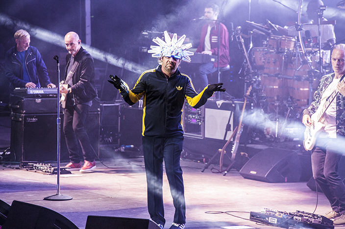 Jamiroquai performing at Starlite Festival for Getty Images