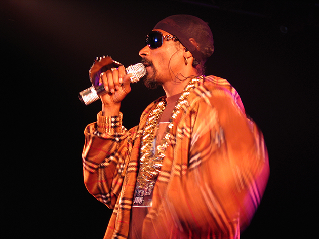 Snopp Dogg at Monegros festival for Inzona Magazine 2007