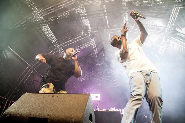 Working as one of the oficial photogrphers for Sonar 2017, de la soul